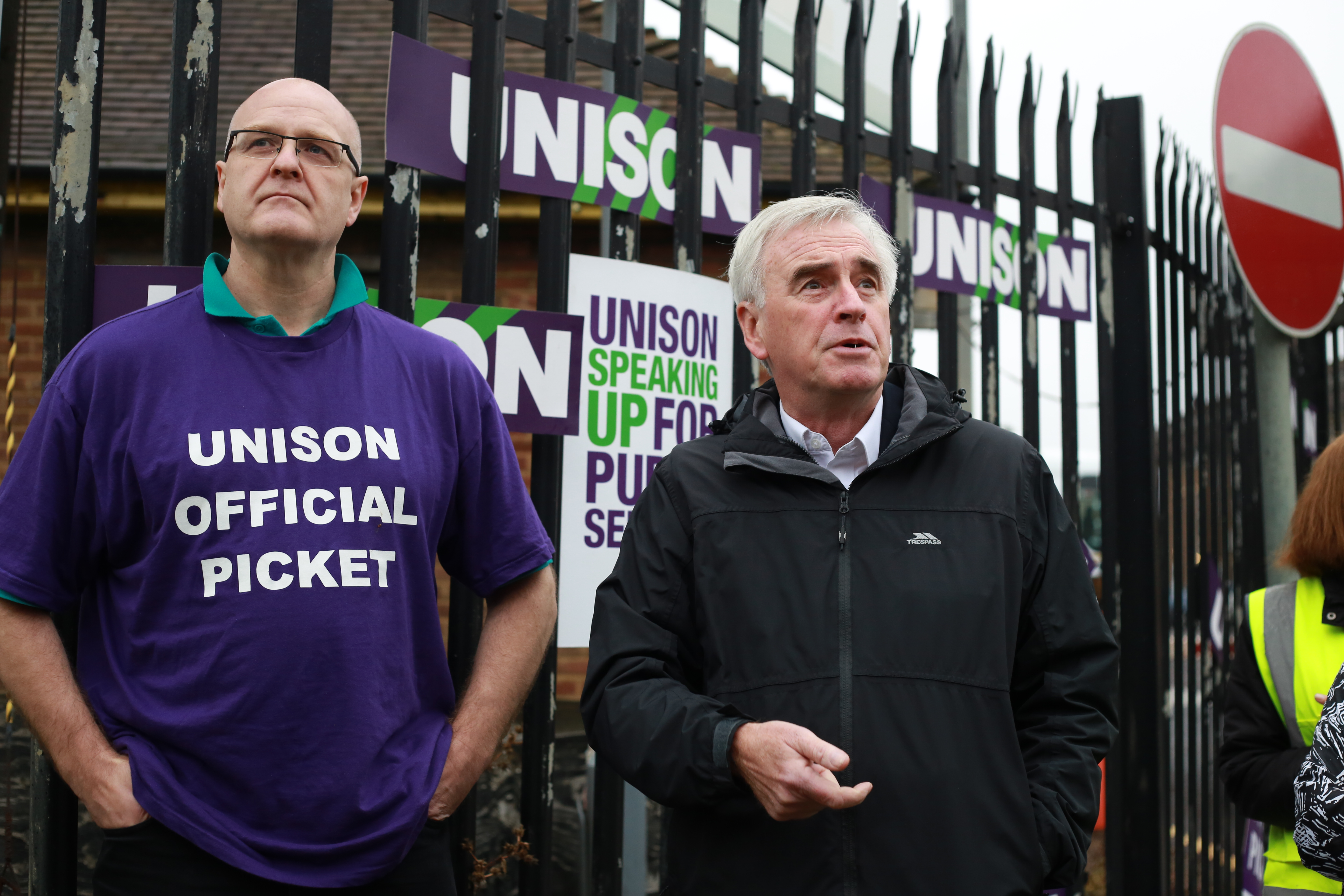 Solidarity message from Shadow Chancellor John McDonnell
